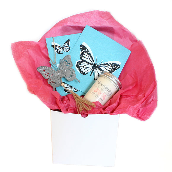 Flutterly Brilliant Butterfly Gift Box