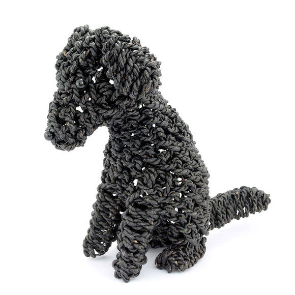 Black Rope Dog - Flamingo Boutique