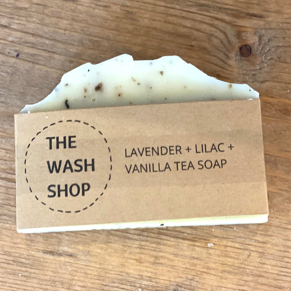 Lavender, Lilac & Vanilla Tea Soap - Flamingo Boutique