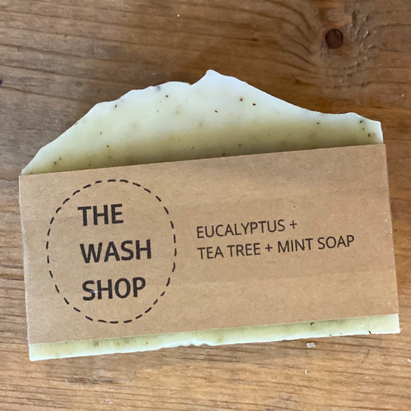 Eucalyptus, Tea Tree  & Mint Soap - Flamingo Boutique