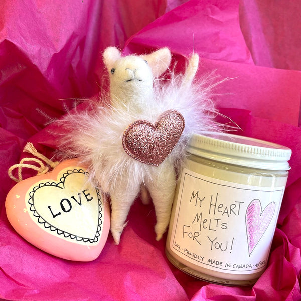 Pink Love Heart Gift Box