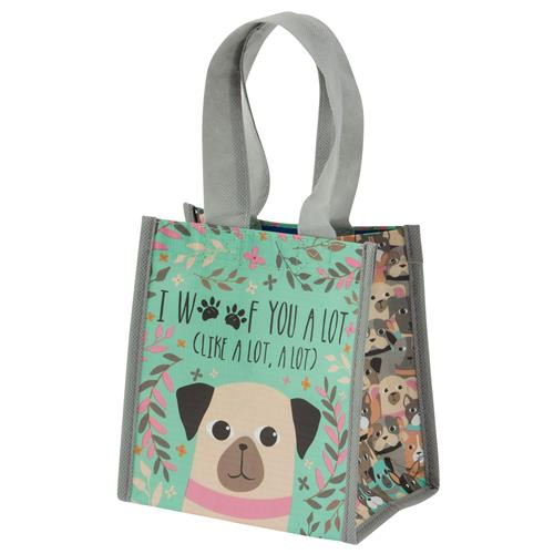 I Woof You A Lot Small Gift Bag - Flamingo Boutique