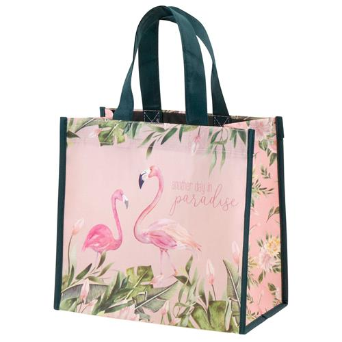 Another Day In Paradise Flamingo Gift Bag