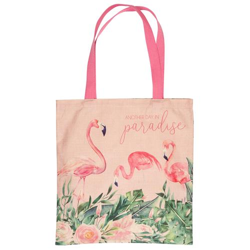 Flamingo Market Tote Bag