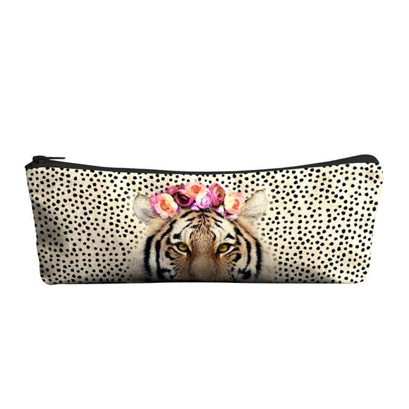 Tiger Pencil Pouch - Flamingo Boutique