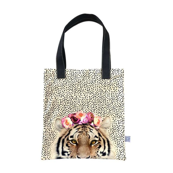 Tiger Tote Bag - Flamingo Boutique