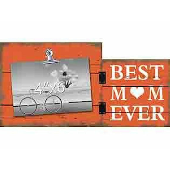 Best Mom Ever Photo Clip Frame - Flamingo Boutique