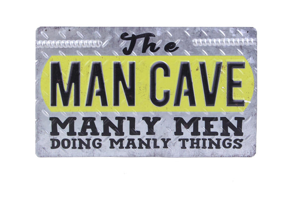 'Man Cave' Sign