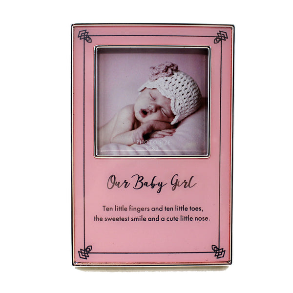 'Our Baby Girl' Frame - Flamingo Boutique