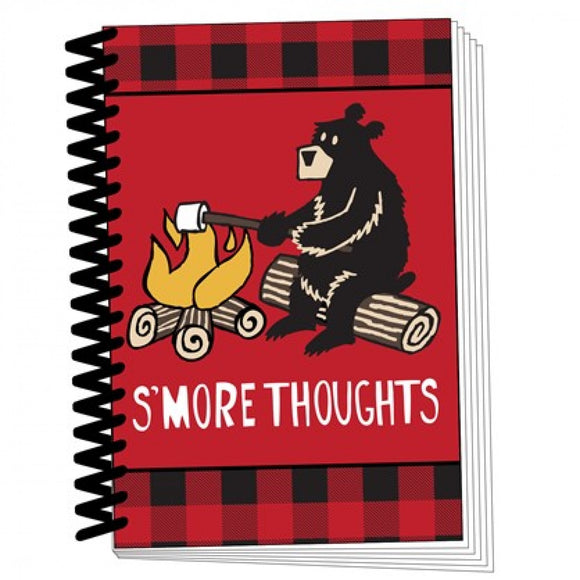 Happy Camper - S'more Thoughts Notebook - Flamingo Boutique
