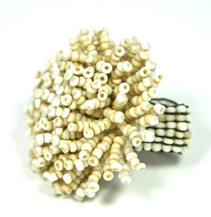 Beaded Urchin Ring - Flamingo Boutique