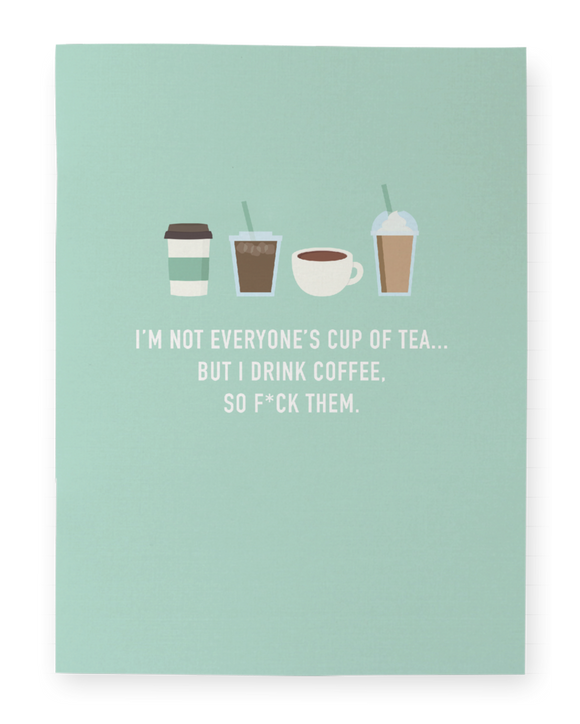 I Drink Coffee - Pocket Notebook - Flamingo Boutique