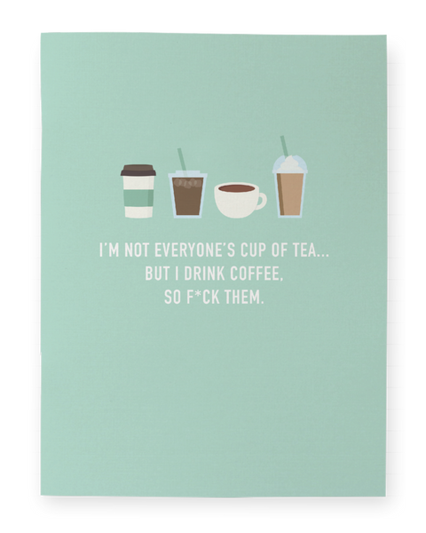 I Drink Coffee - Pocket Notebook