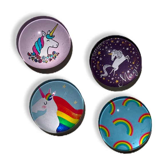 Individual Unicorn Themed Magnets