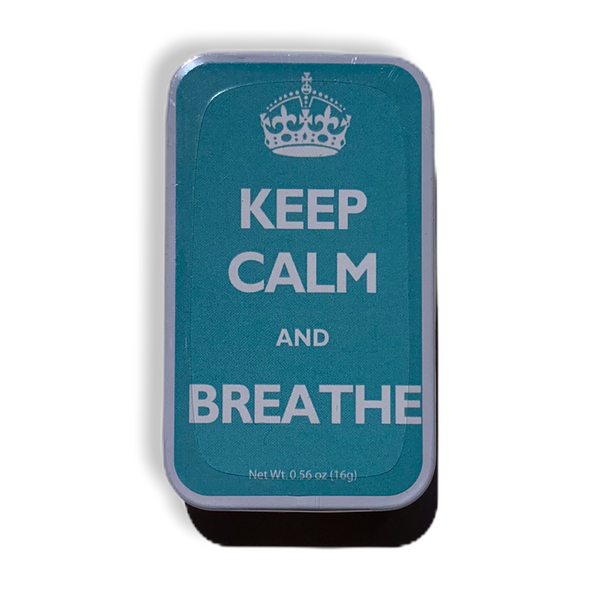 'Keep Calm And Breathe' Mint Box - Flamingo Boutique