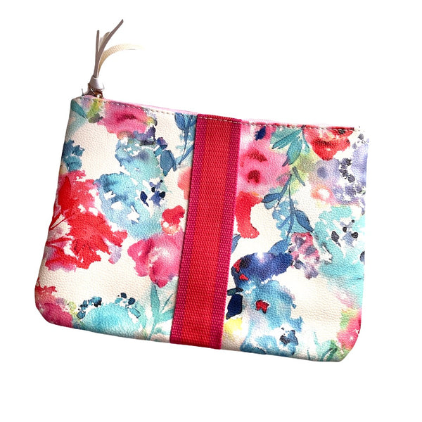 Pretty Water Colour Pouch