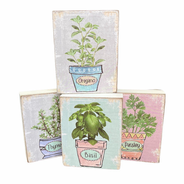 Herb Garden Blocks