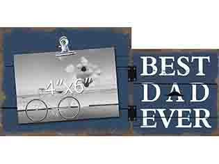 Best Dad Ever Photo Clip Frame