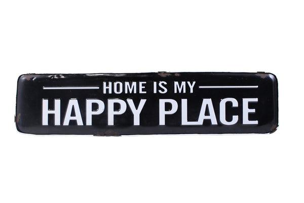 'Home Is My Happy Place' Sign
