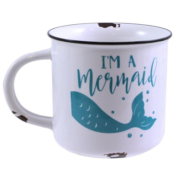 "Ceramic ""I'm A Mermaid"" Mug"