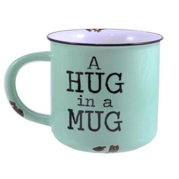 "Ceramic ""Hug In A Mug"" Mug"
