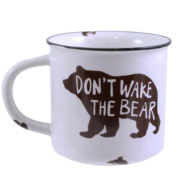 "Ceramic ""Don't Wake The Bear"" Mug"