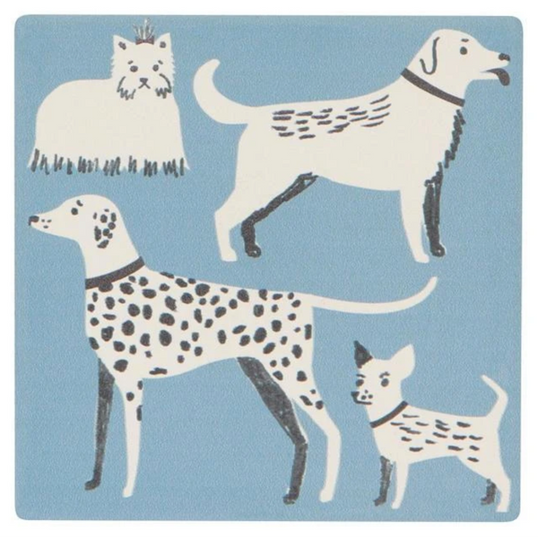 Dog Days Soak Up Coaster Set - Flamingo Boutique
