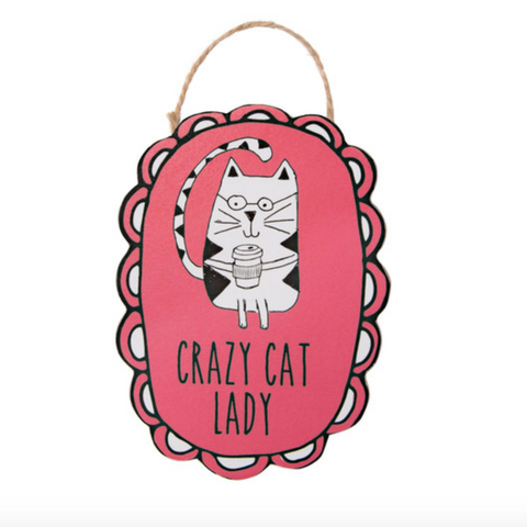Crazy Cat Lady Magnet - Flamingo Boutique