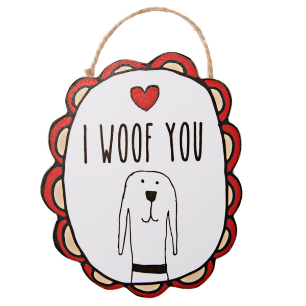 I Woof You Magnet - Flamingo Boutique
