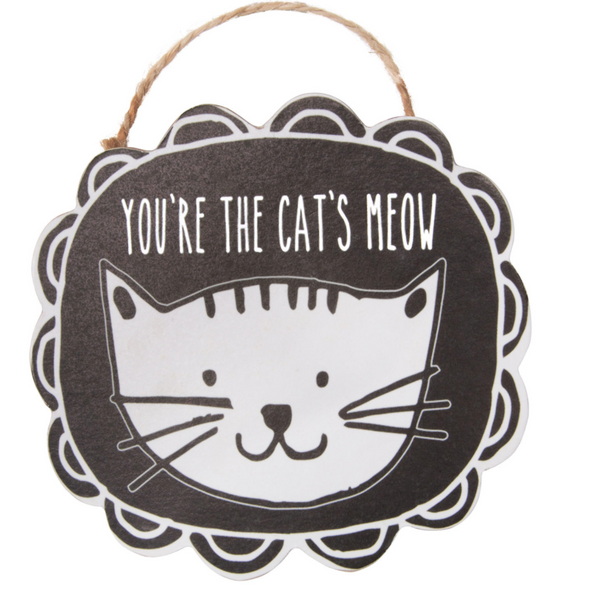 Cat's Meow Magnet - Flamingo Boutique