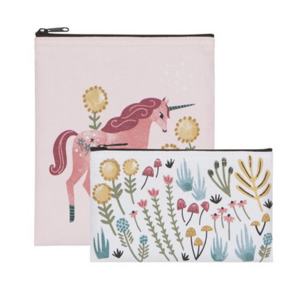 Unicorn Snack Bag - Set/2 - Flamingo Boutique