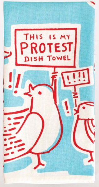 This Is My Protest Tea Towel - Flamingo Boutique