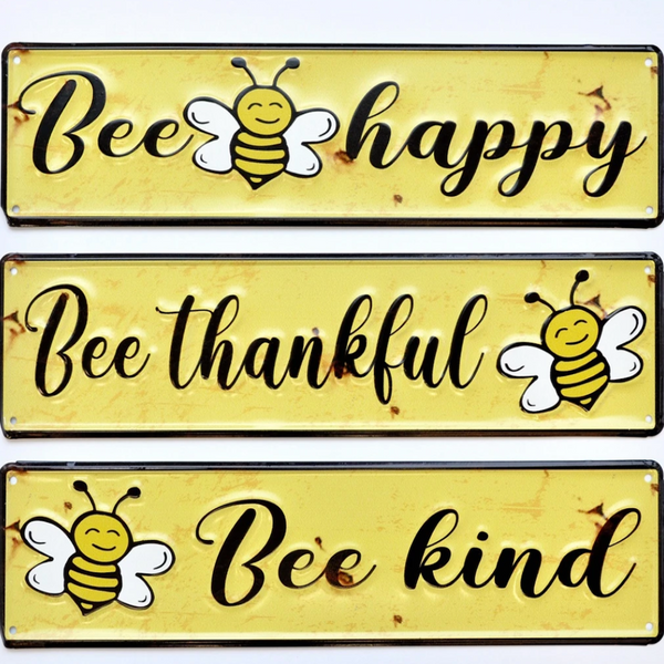 Bumblebee Metal Signs