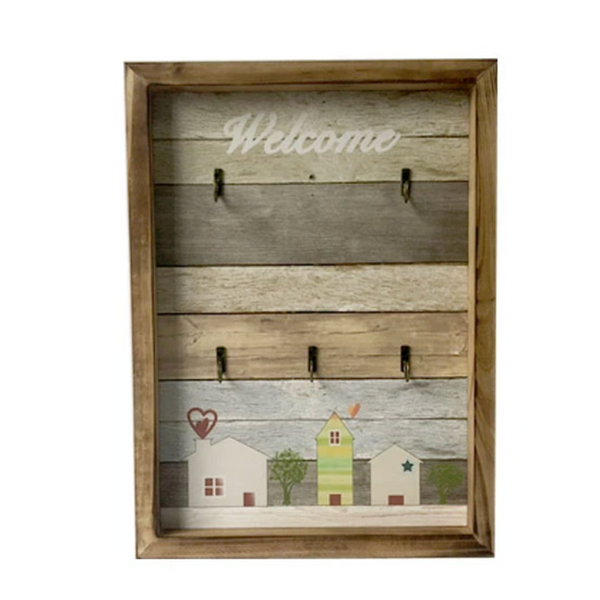 Welcome Key Holder Frame