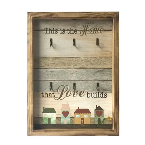 The Home That Love Builds Key Holder Frame