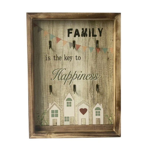 Family Key Holder Frame