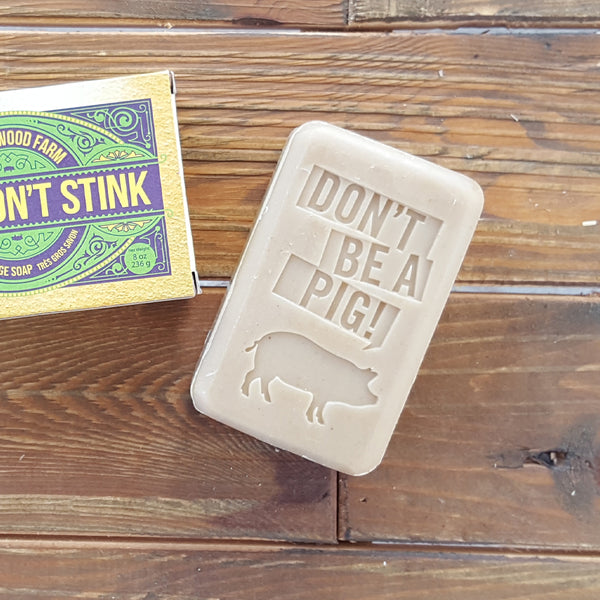 BOY'S DON'T STINK SOAP
