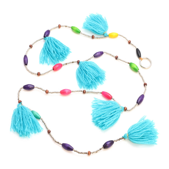 Beaded Tassel Garland