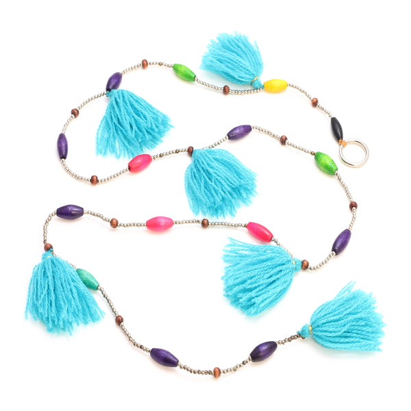 Beaded Tassel Garland - Flamingo Boutique