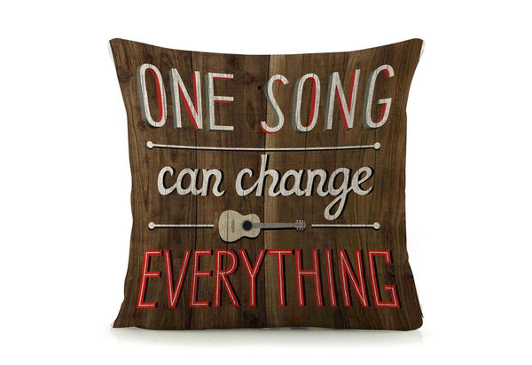 One Song Cushion