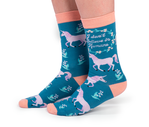 Unicorn Utopia Socks - Flamingo Boutique