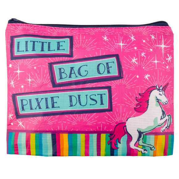Unicorn Recycled Carry All Pouch - Flamingo Boutique