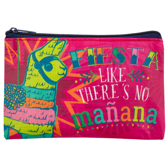 Llama Recycled Coin Purse - Flamingo Boutique