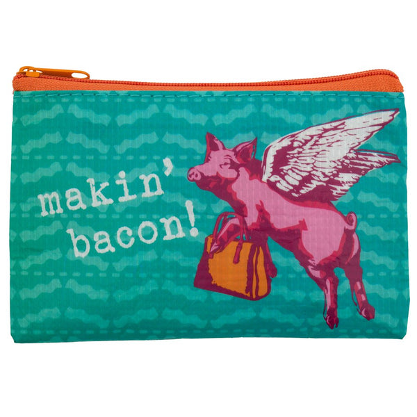 Pig Recycled Coin Purse