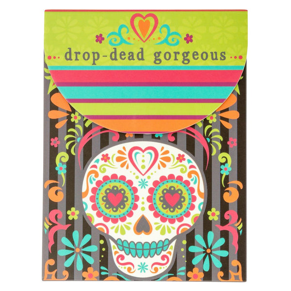 Drop Dead Gorgeous - Skull Pocket Notepad - Flamingo Boutique