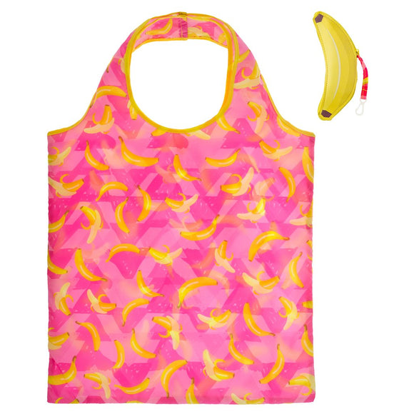 Banana Foldable Shopping Tote - Flamingo Boutique