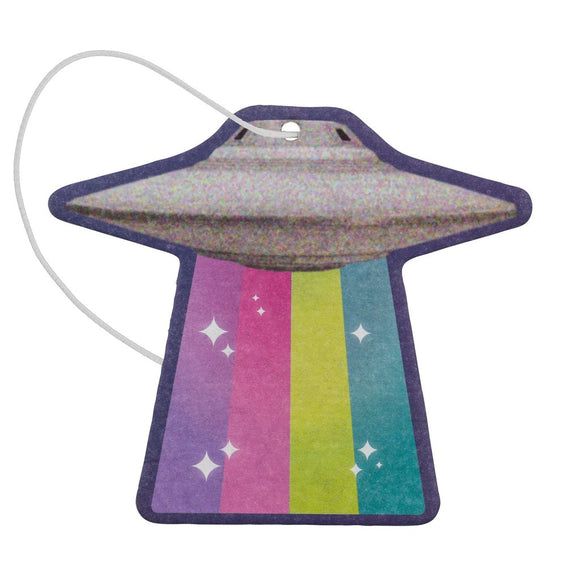UFO Shaped Air Freshener Set Of 2 - Lavender Scent - Flamingo Boutique