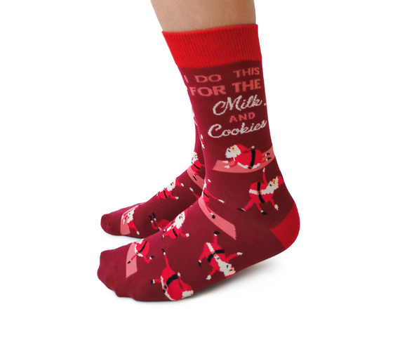 Yoga Santa Socks