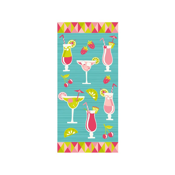 Margarita beach towel - Flamingo Boutique