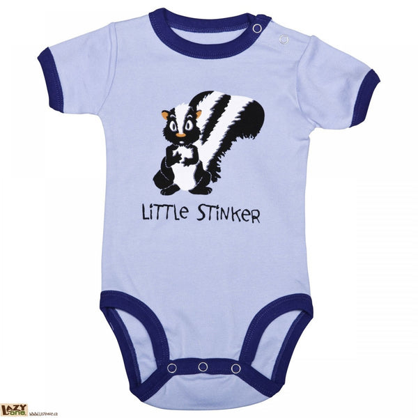 Little Stinker Creeper -Blue - Flamingo Boutique